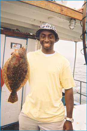 Caught on MV Skipper: Fluke, Summer Flounder