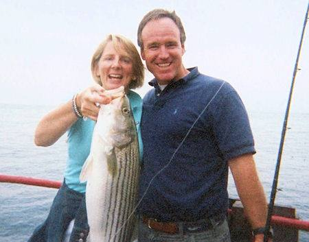 Caught on MV Skipper: Striped Bass